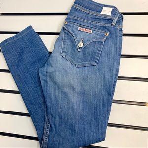 Hudson Collin MidRise Skinny Jeans premium denim